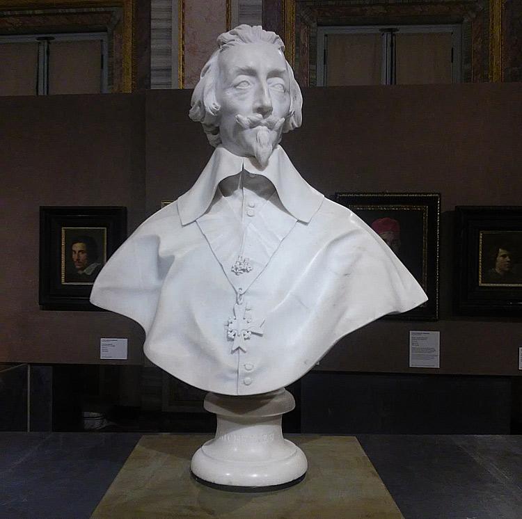 Gian Lorenzo Bernini, Busto del cardinale Armand-Jean du Plessis, duca di Richelieu