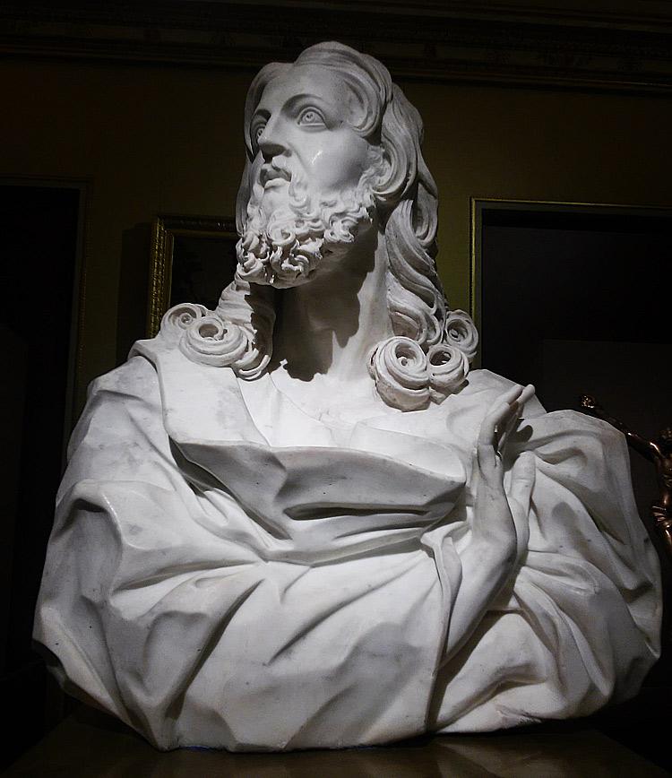 Gian Lorenzo Bernini?, Busto del Salvator Mundi