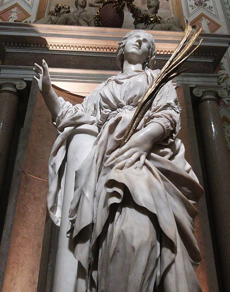 Gian Lorenzo Bernini, Santa Bibiana