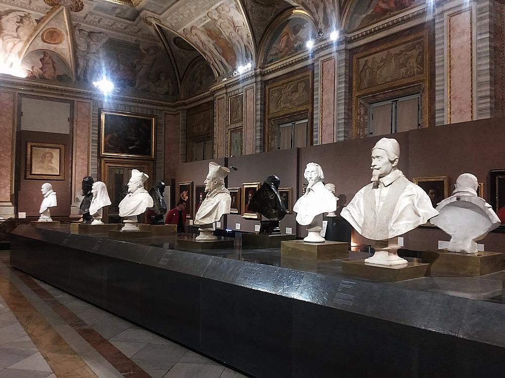 Il salone dei busti