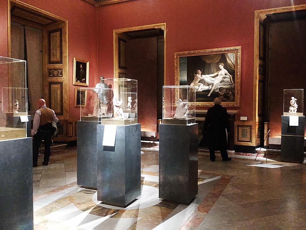 La sala dedicata al mestiere dello scultore