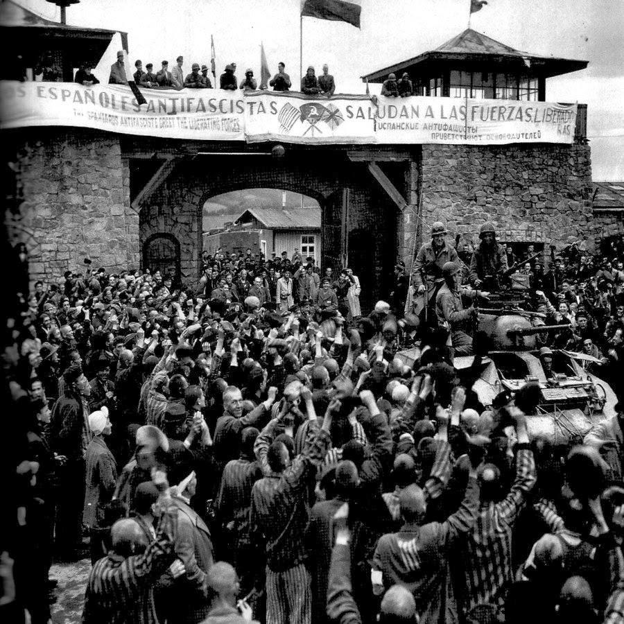 Francesc Boix, La liberazione del campo di Mauthausen
