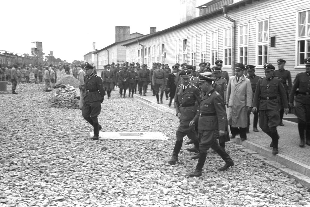 Autore ignoto, Visita di Heinrich Himmler al campo di Mauthausen