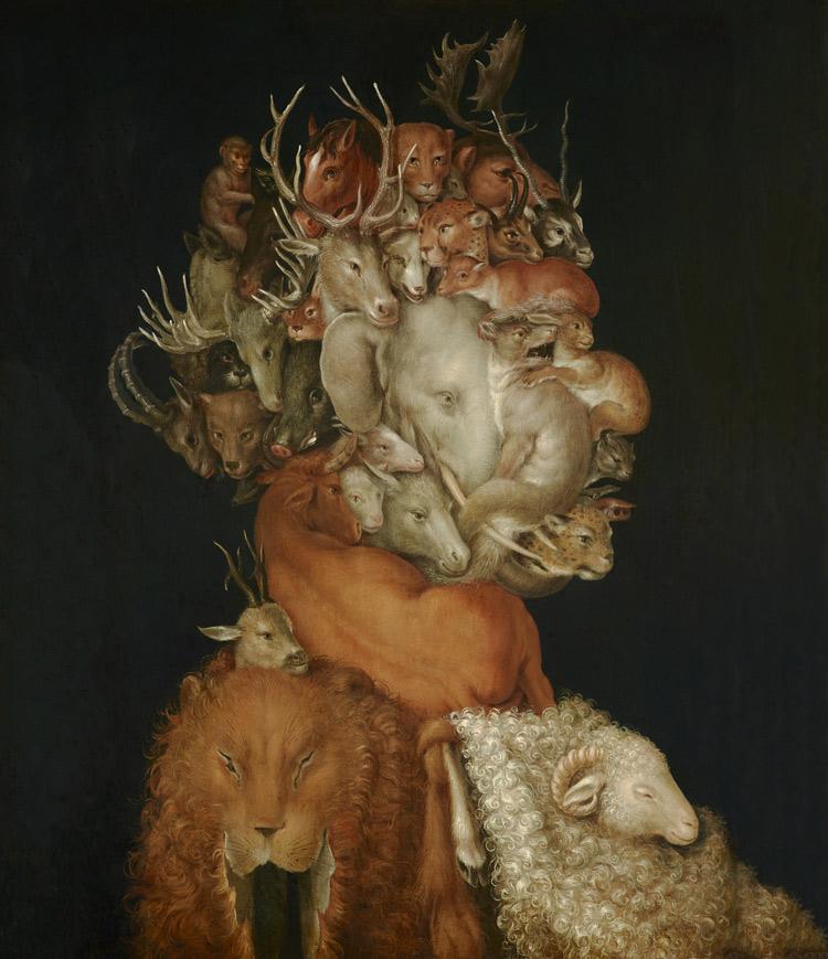 Giuseppe Arcimboldi, La Terra