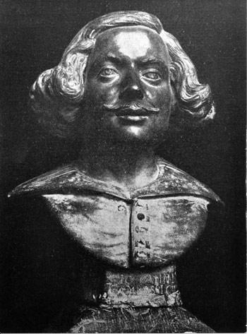 Giovanni Gonnelli detto il Cieco di Gambassi, Autoritratto