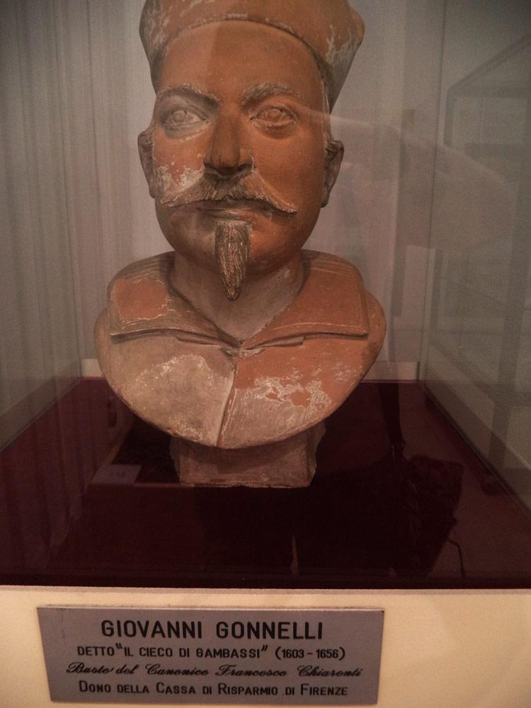Giovanni Gonnelli detto il Cieco di Gambassi, Ritratto di Francesco Chiarenti, vista frontale