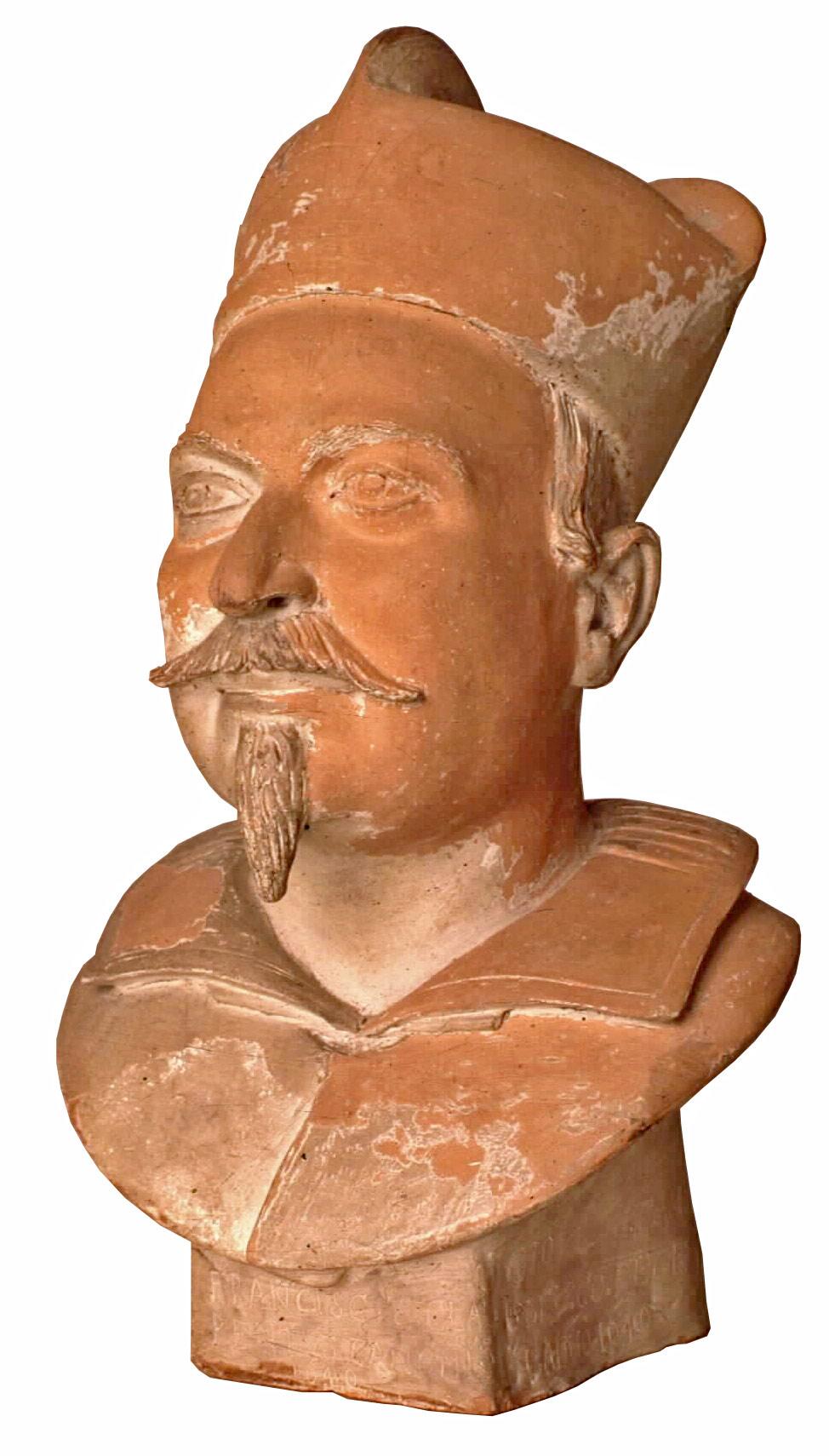 Giovanni Gonnelli detto il Cieco di Gambassi, Ritratto di Francesco Chiarenti