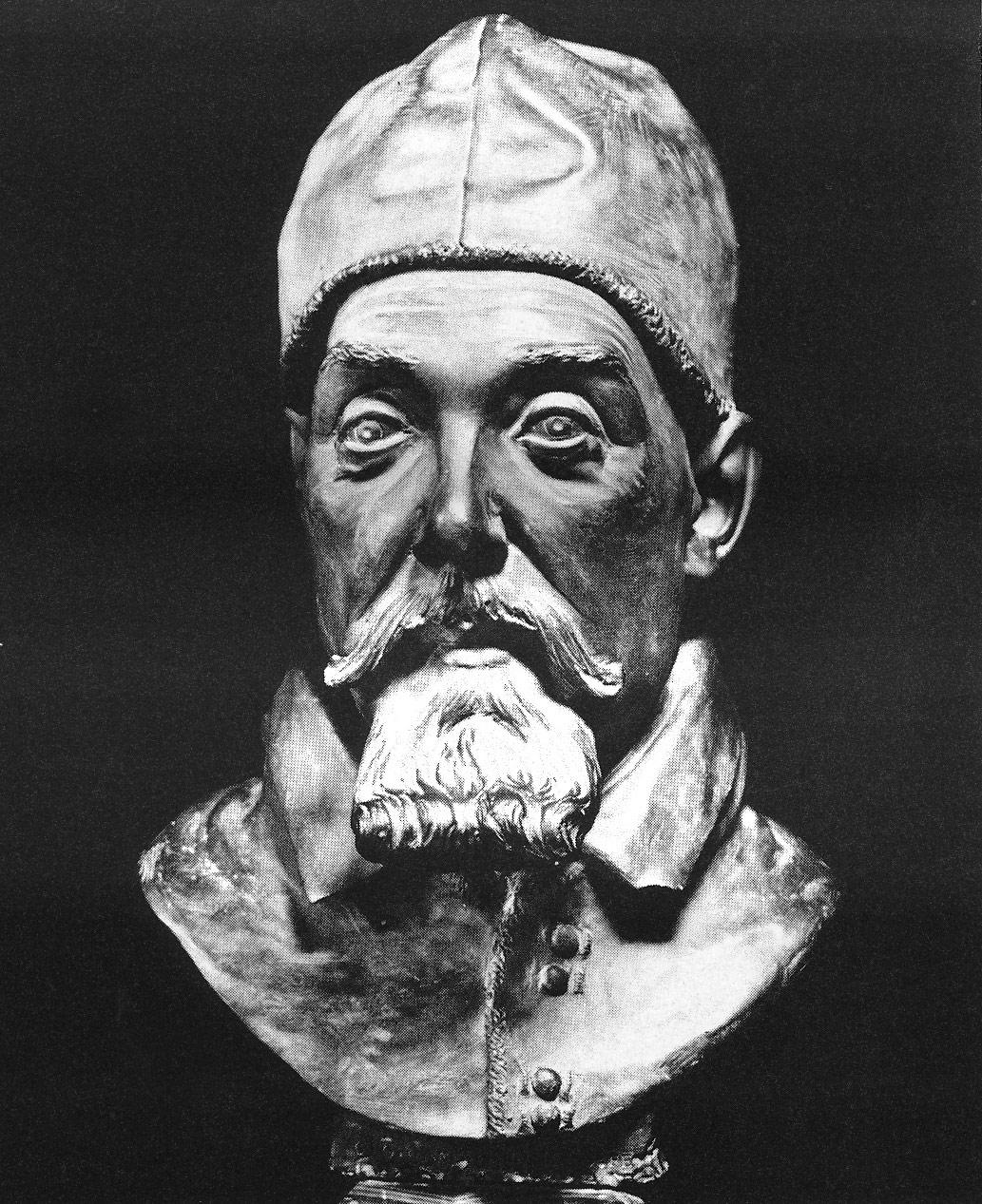 Giovanni Gonnelli detto il Cieco di Gambassi, Ritratto di Urbano VIII