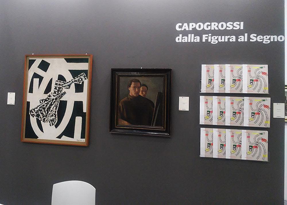 La mostra su Capogrossi da Campaiola