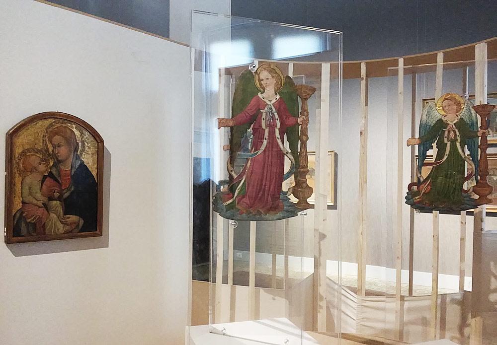 Gli angeli e la Madonna di Ottaviano Nelli