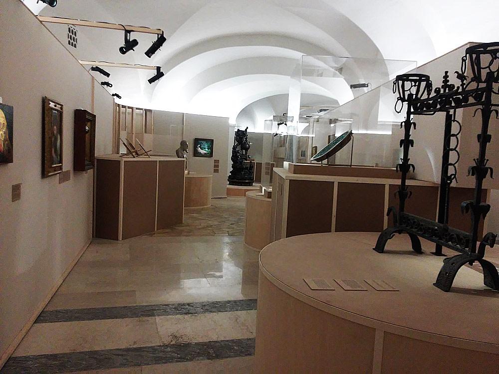 Una sala della mostra Voglia d'Italia
