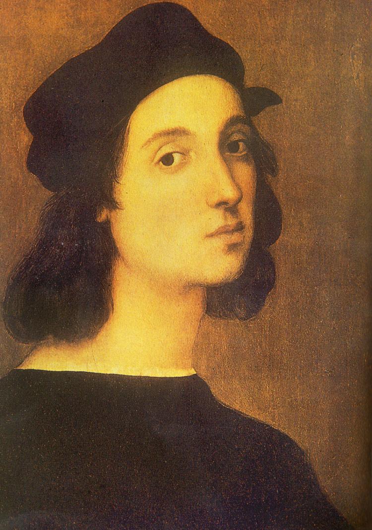 Raffaello, Autoritratto