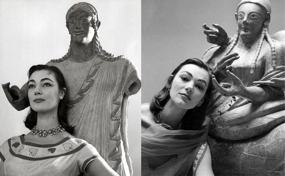 Le immagini di Gattinoni al Museo Nazionale di Villa Giulia