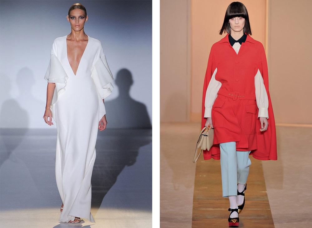 I modelli di Gucci e Marni