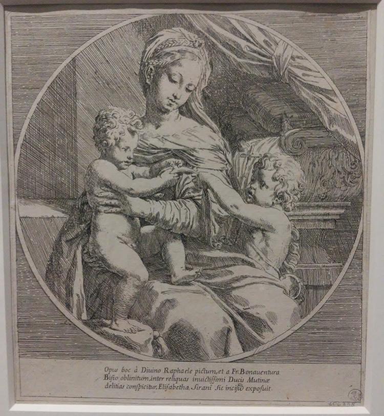 Elisabetta Sirani, Madonna col Bambino e san Giovannino