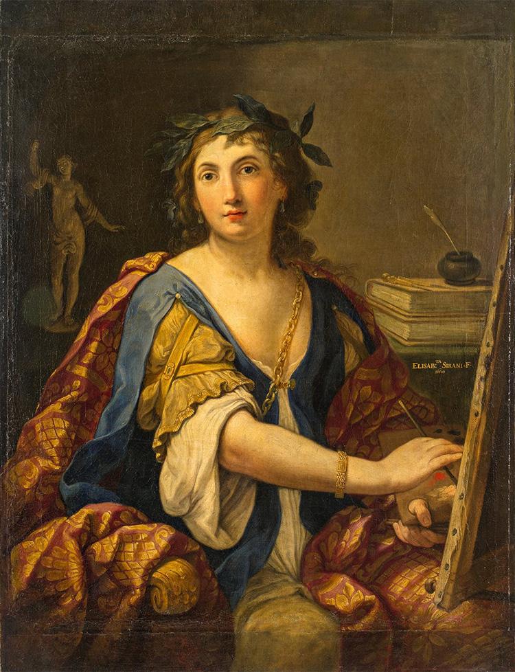 Elisabetta Sirani, Allegoria della pittura (autoritratto?)