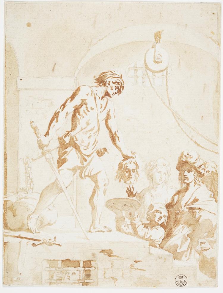 Elisabetta Sirani, Decollazione di san Giovanni Battista
