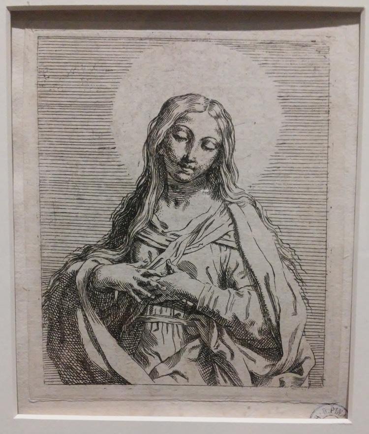 Elisabetta Sirani, Vergine Immacolata