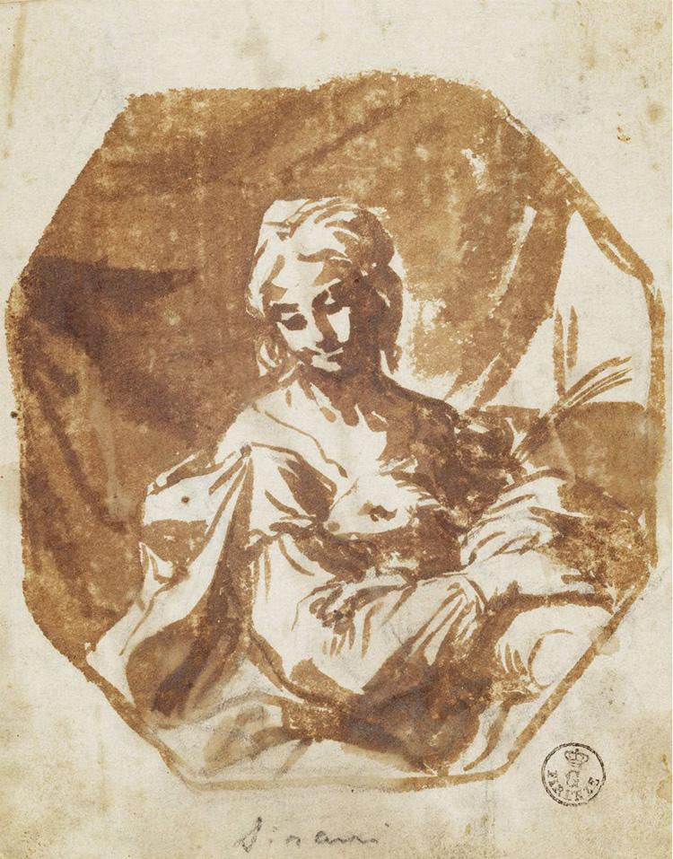 Elisabetta Sirani, Sant'Agnese