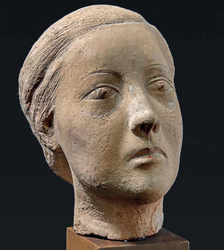 Marino Marini, Ritratto della signora Verga