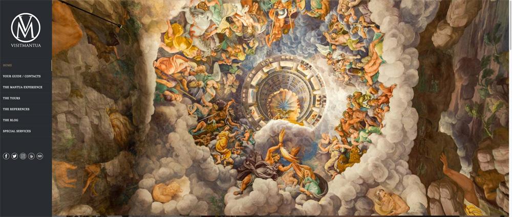 La Camera dei Giganti di Palazzo Te nel sito di VISITMANTUA