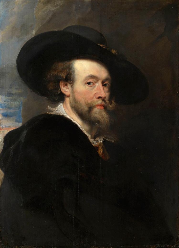Pieter Paul Rubens, Autoritratto (Royal Collection)