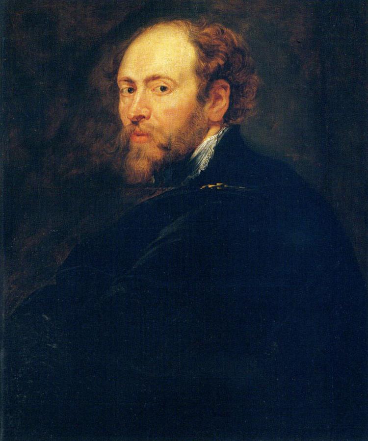 Pieter Paul Rubens, Autoritratto (Uffizi)