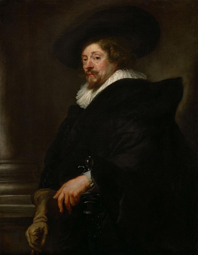 Pieter Paul Rubens, Autoritratto (Vienna)