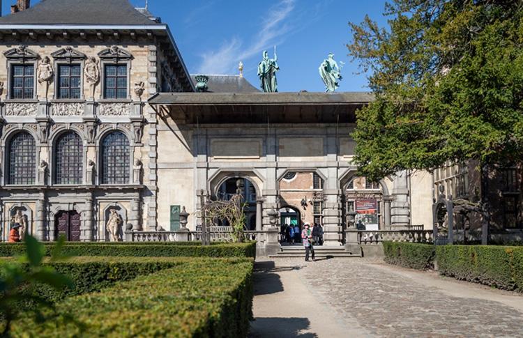 Il portico della Rubenshuis