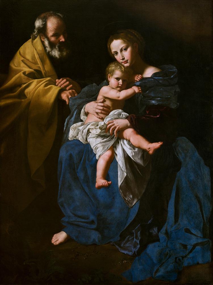 Bartolomeo Cavarozzi, Sacra famiglia (Pinacoteca dell'Accademia Albertina)