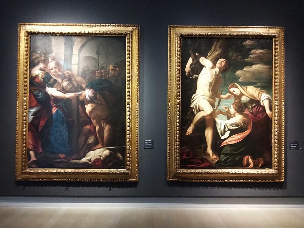 Il confronto tra Giulio Cesare Procaccini e Simon Vouet. Ph. Credit Finestre sull'Arte