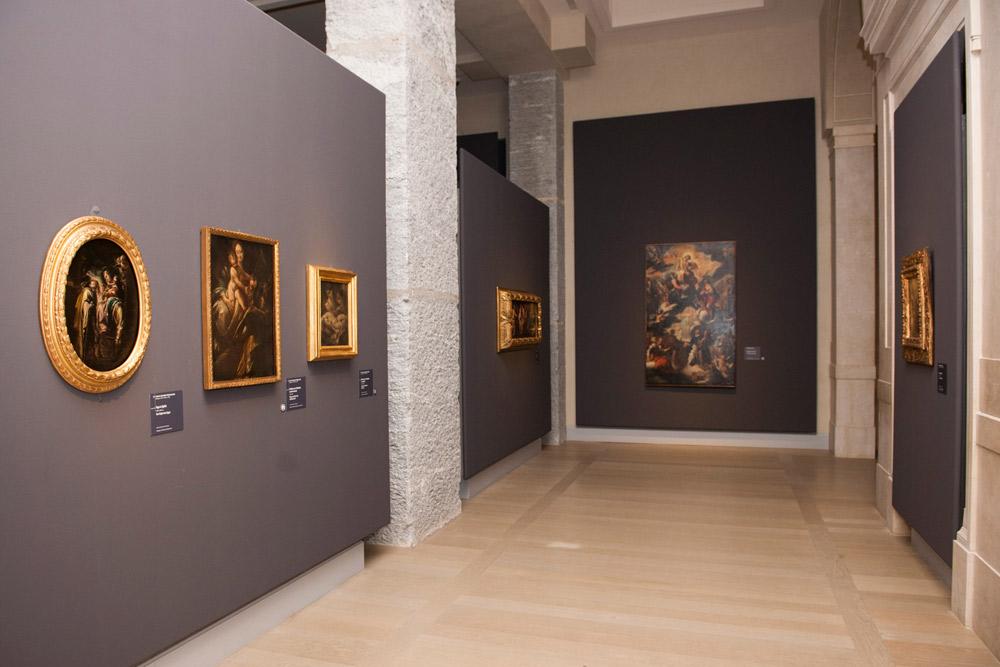 Sala della mostra L'ultimo Caravaggio. Ph. Credit Maurizio Tosto