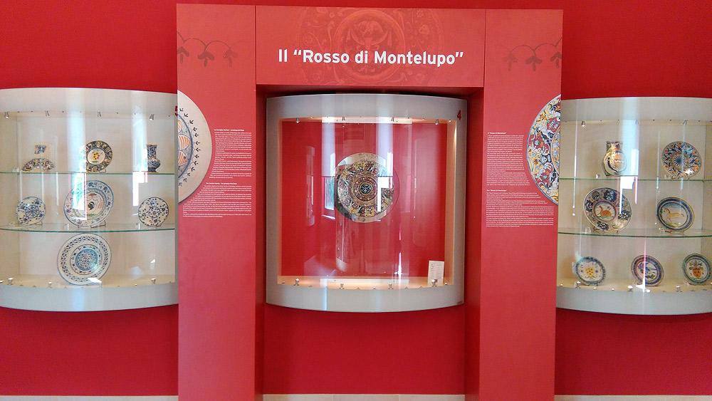 Il Rosso di Montelupo nella sua sala al Museo della Ceramica