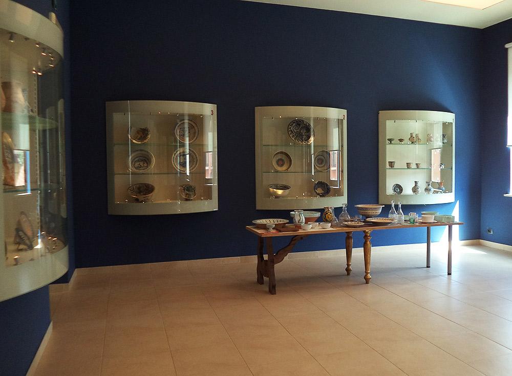 Una sala del Museo della Ceramica di Montelupo