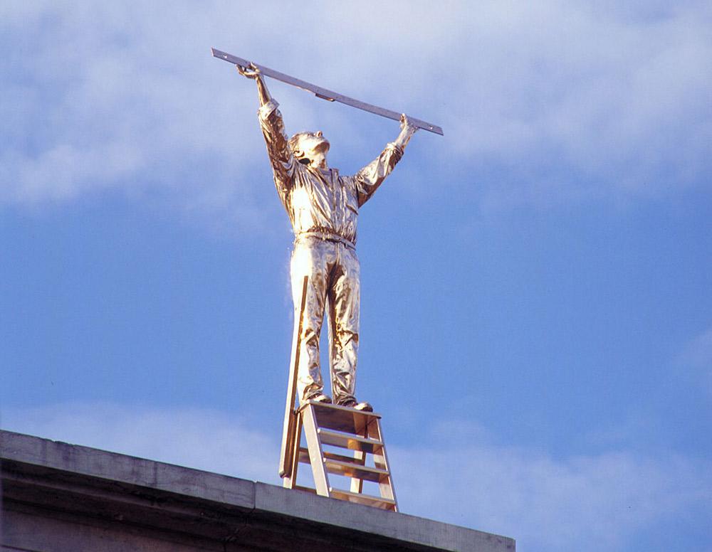 Jan Fabre, Uomo che misura le nuvole