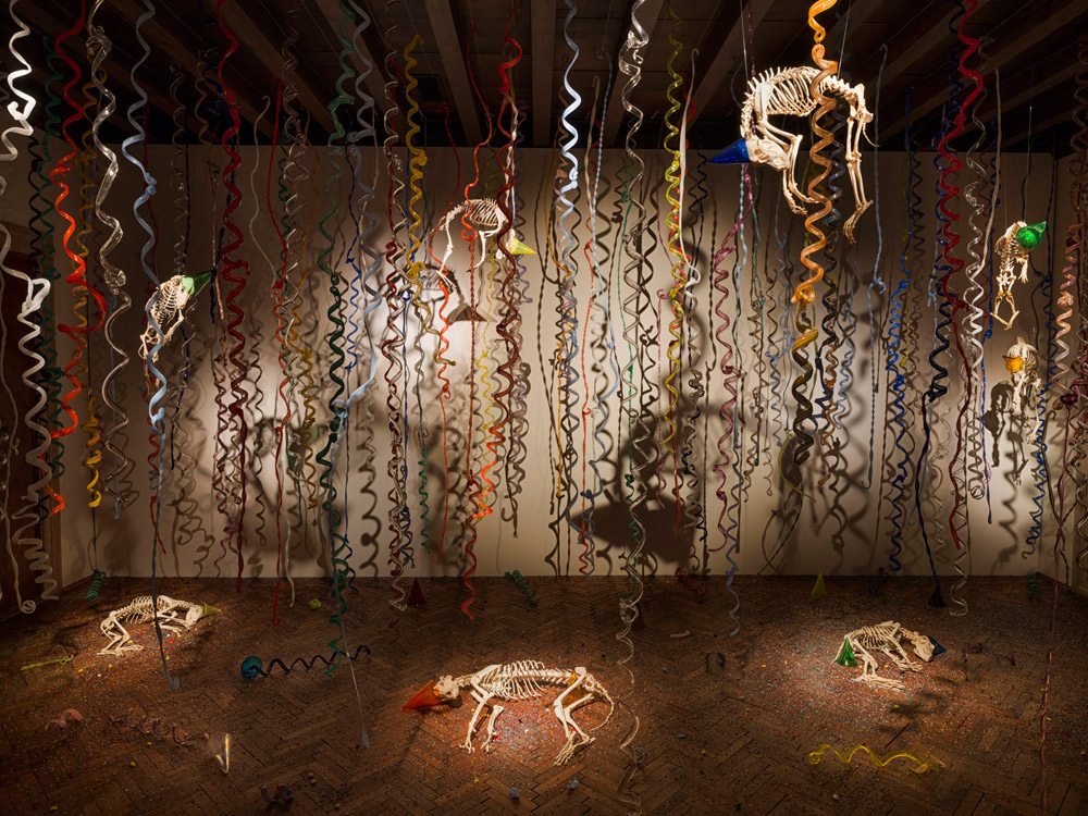 Jan Fabre, The Catacombs of the dead street dogs