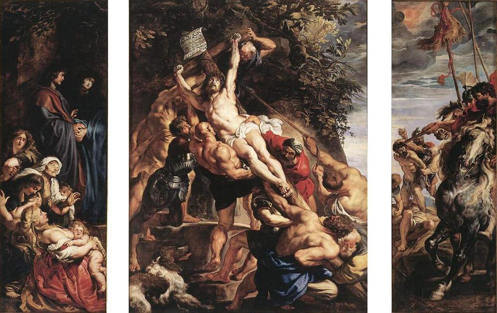 Pieter Paul Rubens, Crocifissione o Innalzamento della croce