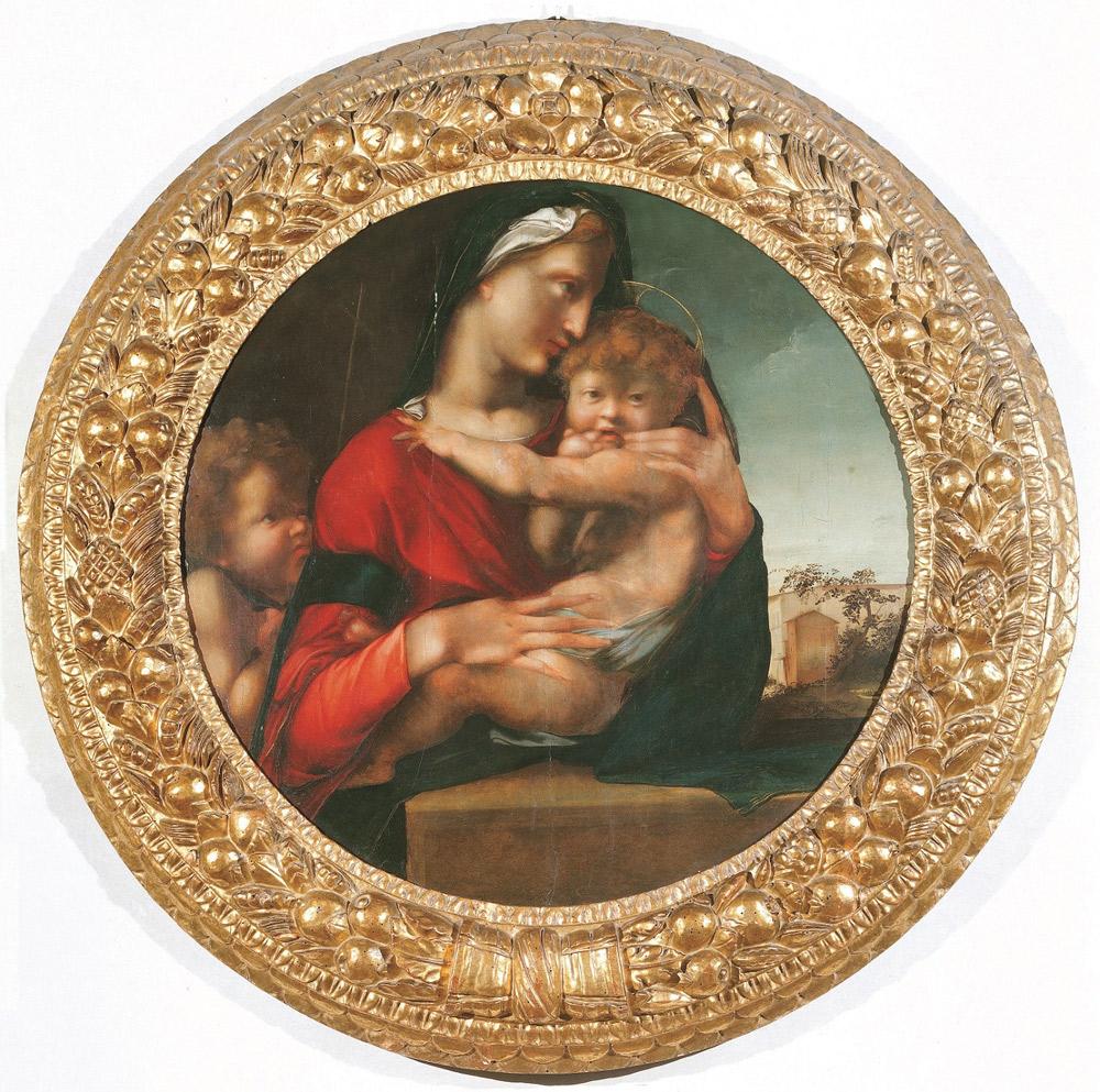 Alonso Berruguete, Madonna col Bambino detta Tondo Loeser