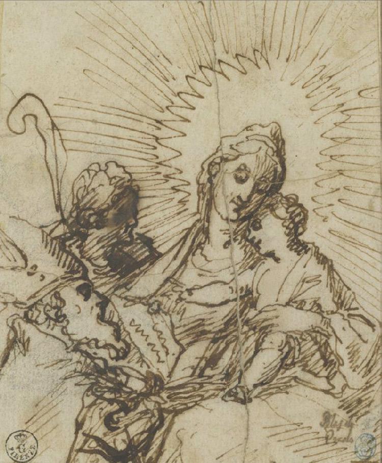 Blas de Prado, Madonna col Bambino
