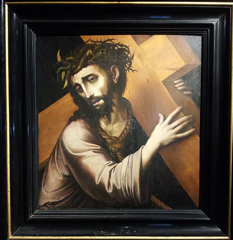 Bottega di Luis de Morales, Cristo portacroce