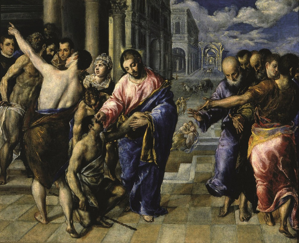 El Greco, Guarigione del cieco nato