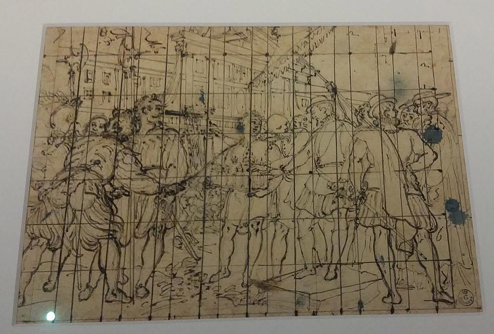 Gregorio Pagani, Filippo II approva il progetto dell'Escorial