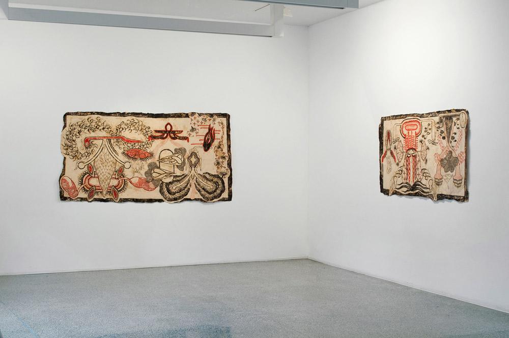 La mostra Ostrakon di Simone Pellegrini. Ph. Credit Galleria Cardelli e Fontana, Sarzana