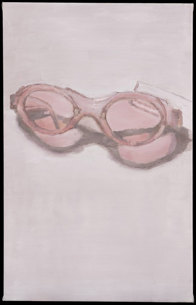 Luc Tuymans, Pink Glasses