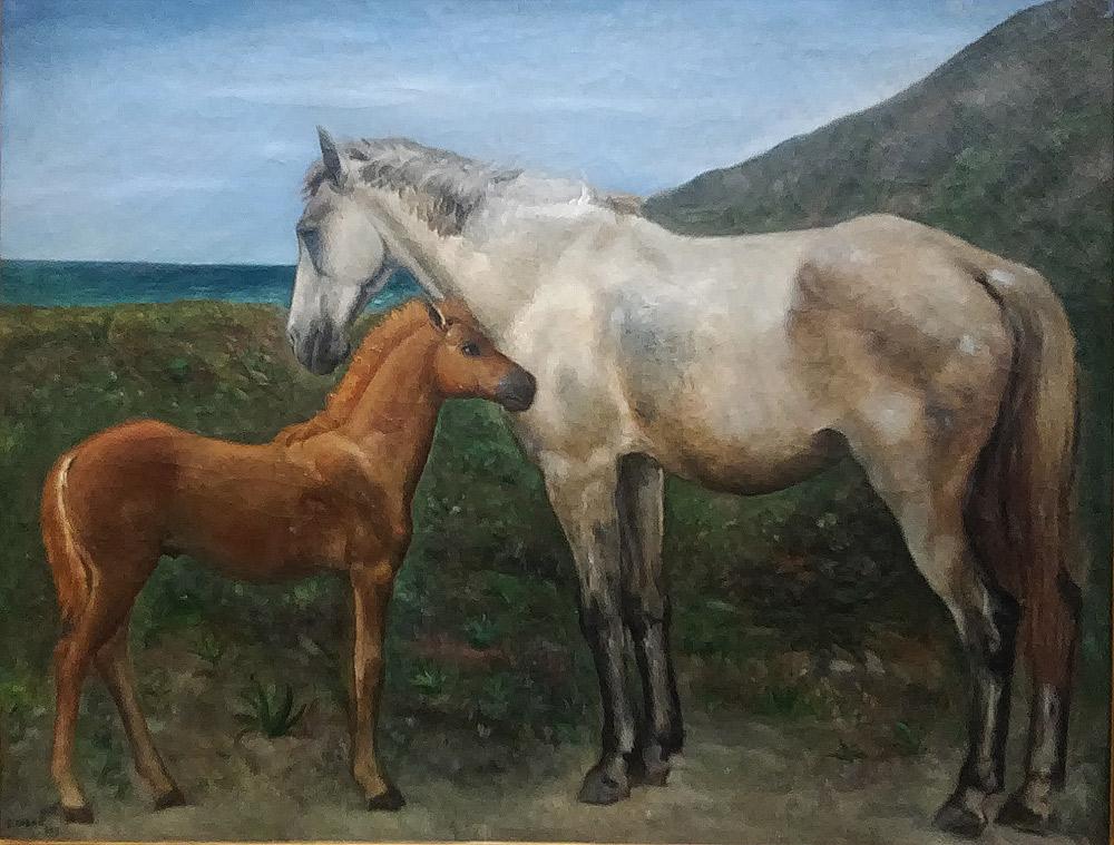 Carlo Carrà, I cavalli