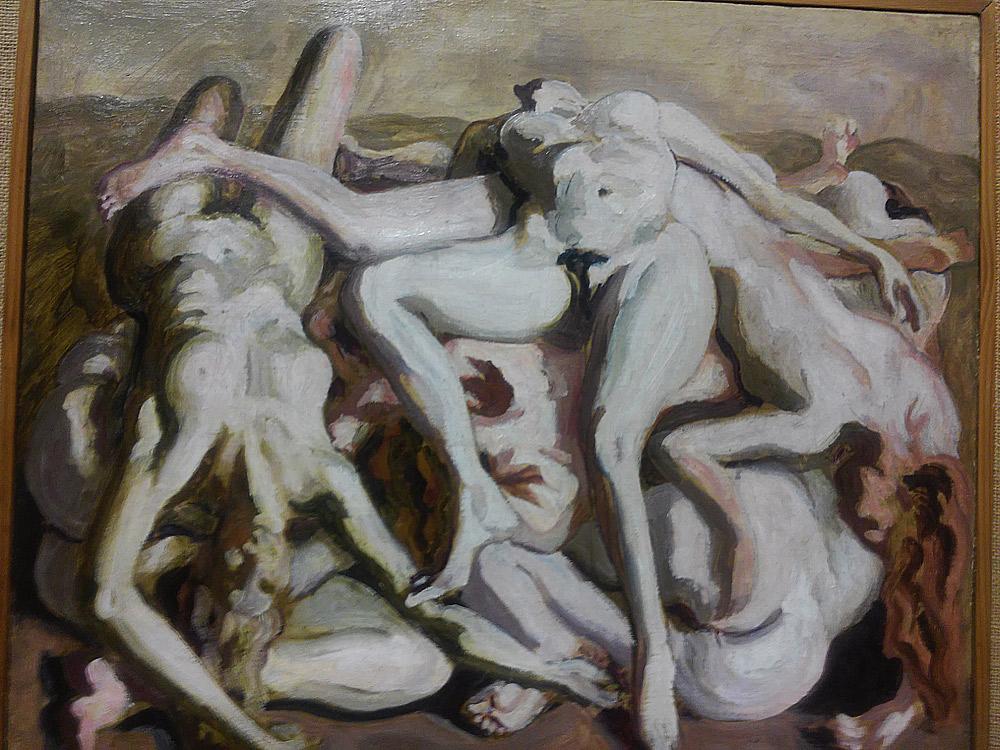 Carlo Levi, Campo di concentramento o Le donne morte (Il lager presentito)