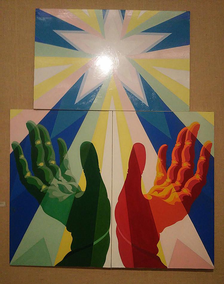 Giacomo Balla, Le mani del popolo italiano