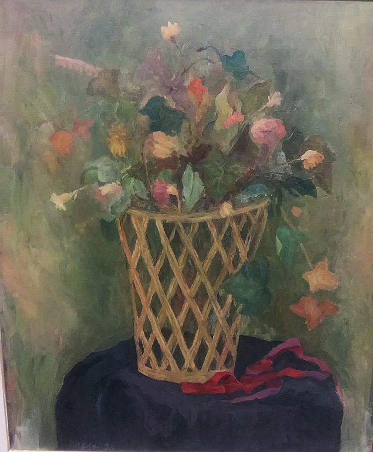 Mario Mafai, Il cestino di fiori