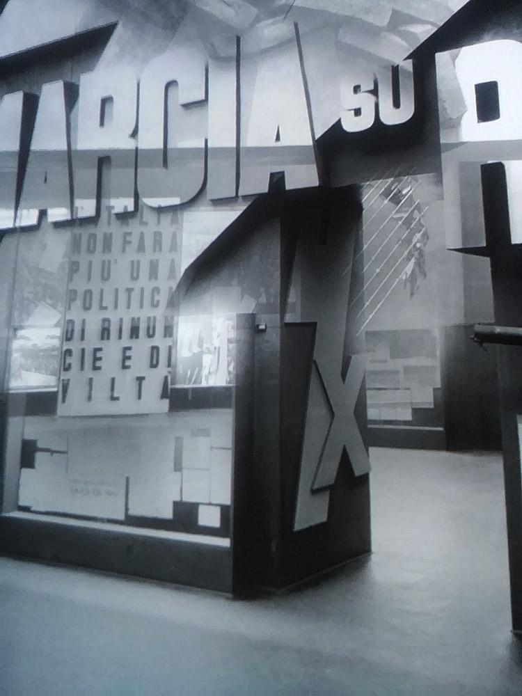 Proiezioni della Mostra della Rivoluzione Fascista