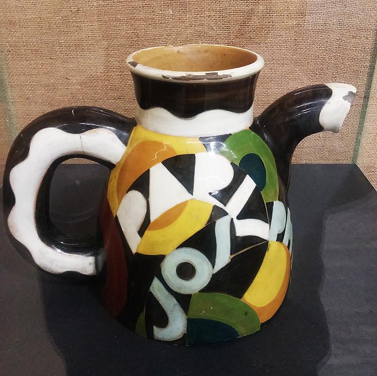 La brocca in ceramica di Tullio d'Albisola
